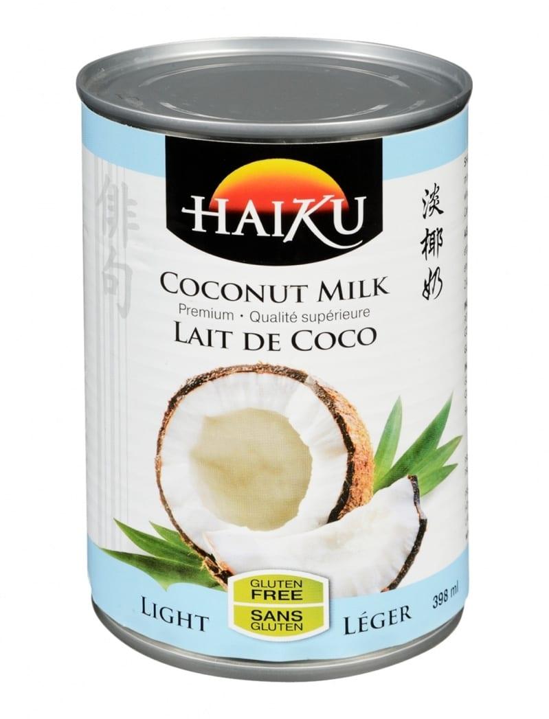 Lait de coco l ger haiku - Lait de coco bjorg ...