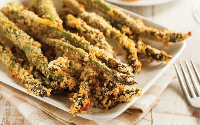 Gluten free asparagus fries