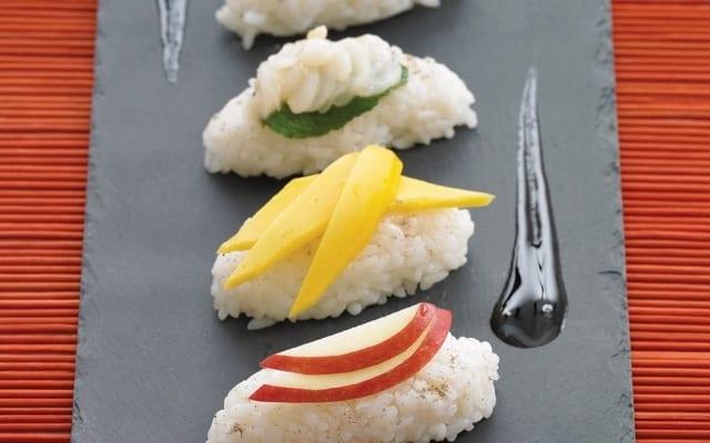 Exotic Fruit Sushi